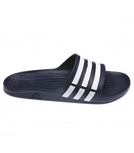 Chanclas de entrenamiento Adidas Duramo G15892 para hombre y para mujer de color azul marino. Otras chanclas de natación en Chema Sport.