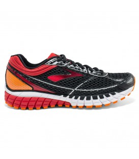 Zapatillas Brooks ADURO 4 Running Hombre Rojo Negro 110228-1D-027-black-high ris red-vibran orange