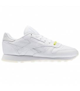 Zapatillas Reebok Classic Leather BD1328 en colaboración con Face Stockholm en color blanco. Otros modelos especiales de Reebok en Chema Sneakers.