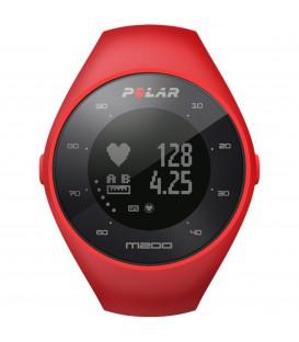 Pulsómetro para running de Polar modelo M200 en color rojo con GPS integrado. Otros pulsómetros de Polar en chemasport.es