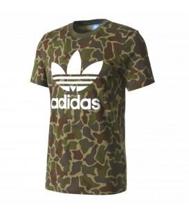 Camiseta Adidas Camouflage con estampado de camuflaje BK5861