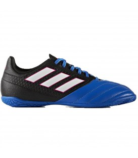ZAPATILLAS FUTBOL SALA ADIDAS ACE 17.4 IN JUNIOR AZUL