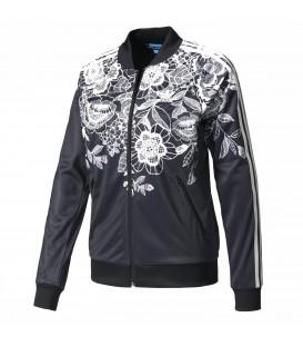 Chaqueta con estampado floral Adidas Florido BJ8399 para mujer. Otras chaquetas y sudaderas de Adidas en Chema Sport.