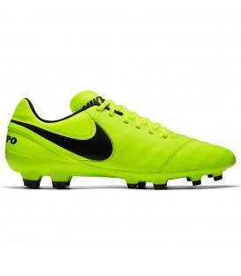 Botas de fútbol Nike Tiempo genio II leather FG 819213-707 amarillo para hombre. Otros modelos de Nike futbol en chemasport.es