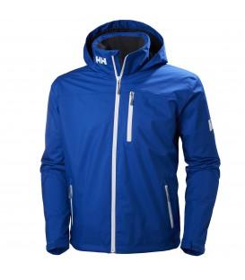 Compra tu Cazadora Helly Hansen Crew Hooded Midlayer Jacket 33874-563 para hombre en color azul en chemasport.es al mejor precio. Disponible en más colores