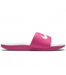 Chanclas de natación para niños Nike Kawa GS 819353-600 de color rosa. Otros modelos de chanclas para mujer y niños en chemasport.es