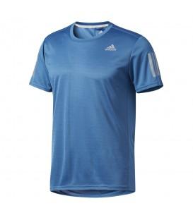 Comprar camiseta de running Adidas Response short sleeve BP7416 color azul. Otros modelos de camisetas de running en chemasport.es