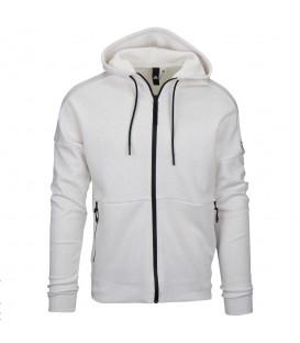 Chaqueta deportiva de algodón Adidas ID Stadium para hombre en blanco jaspeado. Descubre más chaquetas deportivas baratas en chemasport.es