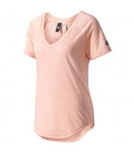 Camiseta deportiva de algodón reciclado de Adidas. ¡Ropa deportiva sostenible a muy buen precio! Envíos nacionales en 48 h.