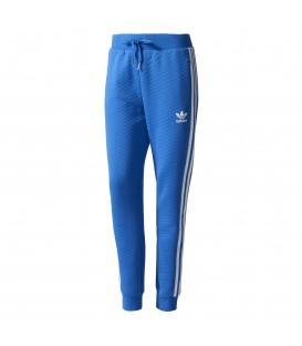 Comprar pantalón largo de color azul para mujer Adidas Cuffed BJ8349 al mejor precio. Otros artículos de Adidas Outlet en Chema Sport.