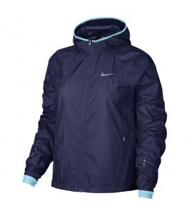 Comprar chaqueta cortavientos de running para mujer al mejor precio Nike Shield Running 799853-429. Cortavientos de Nike en chemasport.es