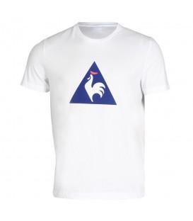 Comprar camiseta de algodón Le Coq Sportif Essentiels 1710445 en color blanco para hombre. Otros modelos de LCS en Chema Sneakers.