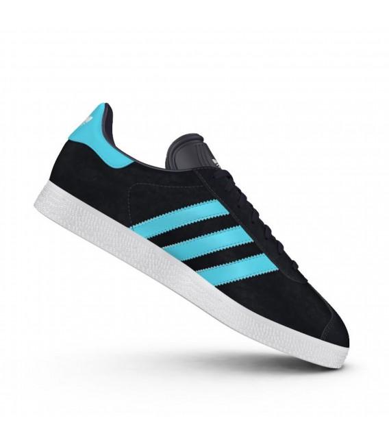 zapatillas adidas gazelle hombre azul