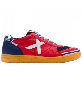 Compra tus Zapatillas de fútbol sala Munich G-3 en color rojo y azul marino para hombre en chemasport.es al mejore precio. ¡Envíos a península en 24/48 horas!