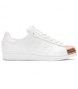 ZAPATILLAS ADIDAS SUPERSTAR METAL TOE BY2882 BLANCO MUJER