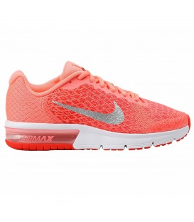 ZAPATILLAS AIR MAX SEQUENT 2 GS RUNNING MUJER ROSA 869994-600