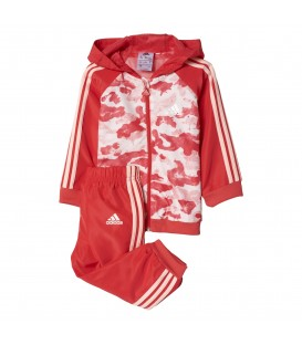 CHANDAL ADIDAS I SP WV FZ HD BP5303 ROSA NIÑOS