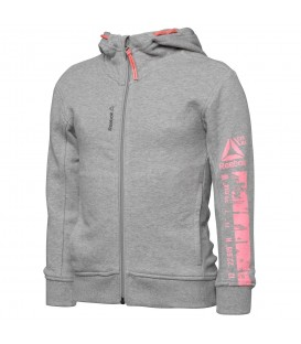 CHAQUETA REEBOK GIRLS WORKOUT READY FULLZIP