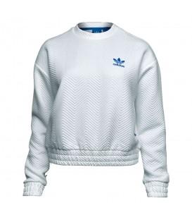 Sudadera Adidas Originals BK5993 de color blanco para mujer inspirada en Nueva York. Otras sudaderas de Adidas en chemasport.es