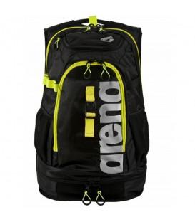 Mochila Arena Fastpack 2.1 negro y amarillo para triatlon y natación. Otras mochilas de Arena en Chema Sport.