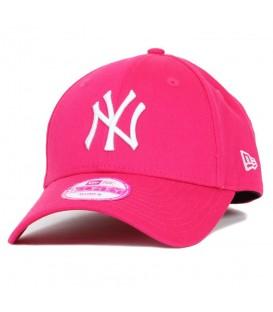 Gorra de los Yankees New Era 9 forty ajustable de color rosa para chica. Otros modelos de gorras de New Era en chemasport.es