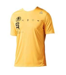 Comprar camiseta técnica Reebok Spartan Race Tech BK7233 de color naranja para hombre. Otros modelos para la carrera Spartan Race en chemasport.es