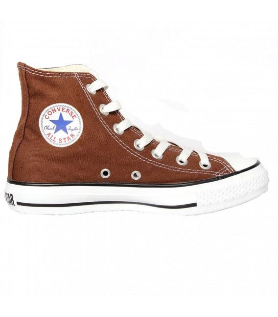 converse all star hi marrón