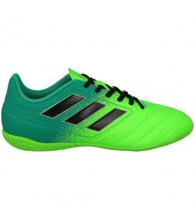 Zapatillas de fúbtol sala para niño Adidas ACE 17.4. Zapatillas de fútbol sala diseñadas para la práctica en pistas indoor. Envíos en 48 horas. Chemasport.es