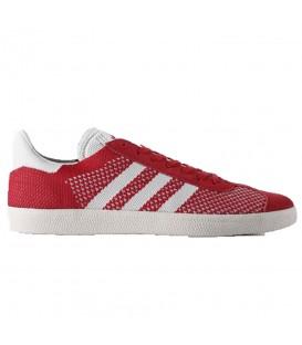 Comprar zapatillas Adidas Gazelle Primeknit BB5247 de color rojo para hombre y mujer al mejor precio en Chema Sneakers.