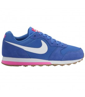 ZAPATILLAS NIKE MD RUNNER 2 GS 807319-404 AZUL MARINO