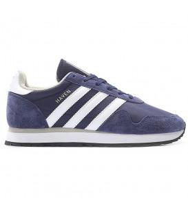 Deportivas para hombre y mujer Adidas Haven BB1280 de color azul marino. El último modelo de Adidas disponible en Chema Sneakers al mejor precio