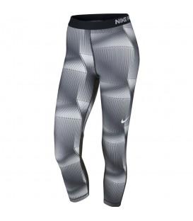 Mallas para fitness de mujer de color gris. Pantalones para fitness y aeróbic de la marca Nike. Cómpralas ya y recíbelas en 48 horas.