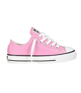 ZAPATILLAS CONVERSE ALL STAR OX JUNIOR MODA SPORTWEAR NIÑO ROSA 3J238C