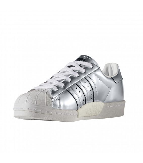 adidas superstar w plata