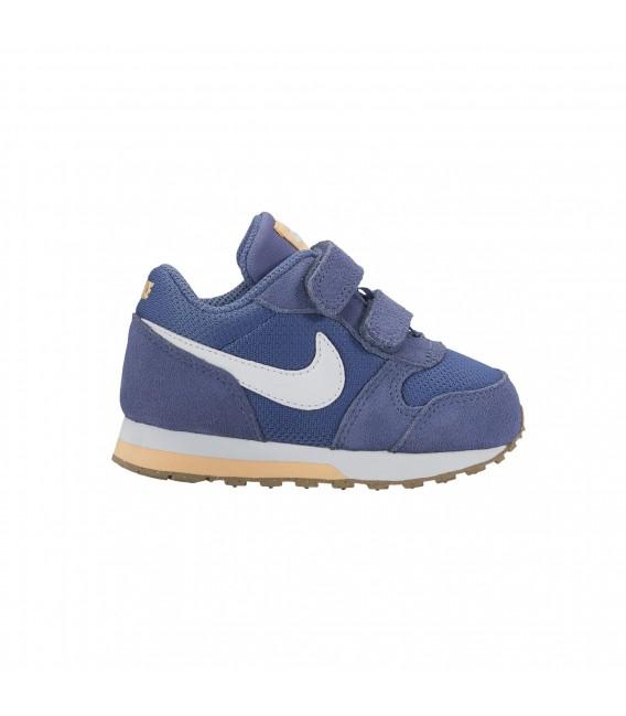 Zapatillas para niños Nike MD Runner 2 TDV en color azul