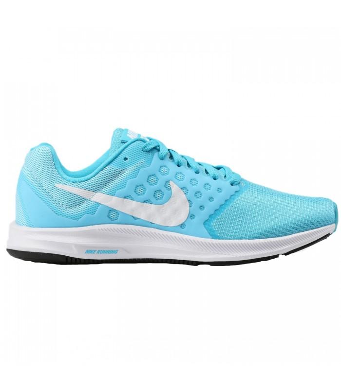zapatillas nike mujer running azul