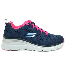 Comprar zapatillas Skechers Fashion Fit Statement piece 12704/NVHP de color azul marino. Otros modelos en chemasport.es