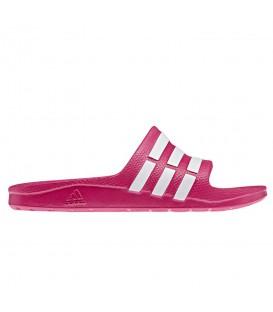 Chanclas Adidas Duramo Slide G06797 en color rosa. Chanclas para la playa o piscina en chemasport.es al mejor precio. ¡Entra y encuentra las tuyas!