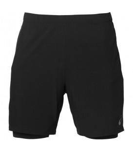 Pantalón corto para hombre de running 2 en 1 de la marca japonesa Asics. Compra barato pantalones deportivos para correr en nuestra web y recíbelos en 48 horas