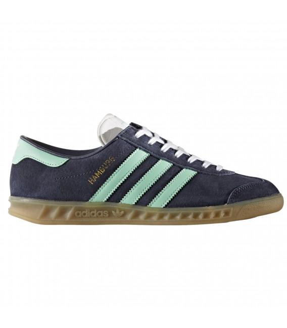 zapatillas adidas azules y verdes