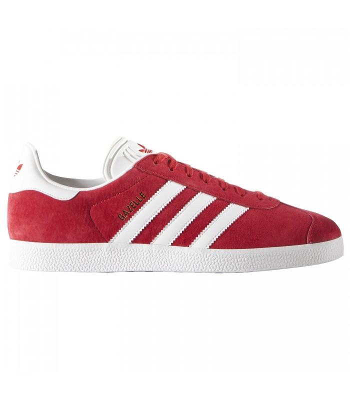 tenis adidas rojo gazelle hombre
