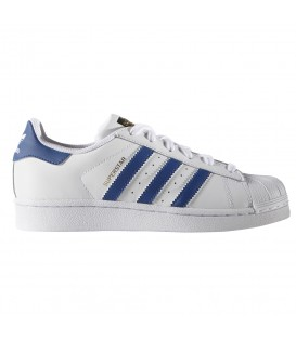 ZAPATILLAS ADIDAS SUPERSTAR 63164 BLANCO AZUL