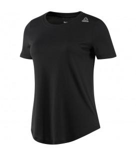 Camiseta Reebok Elements Tee BK3844 para mujer en color negro. Moda Sportwear Reebok en Chema Sport al mejor precio