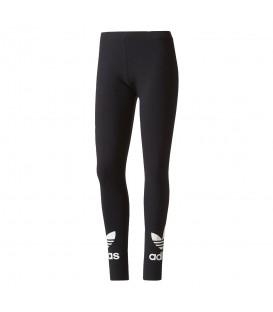 Malla Adidas Trefoil Leggings AJ8153 para mujer en color negro. Mallas Adidas al mejor precio en Chema Sport. Envios nacionales en 24/48 horas en peninsula