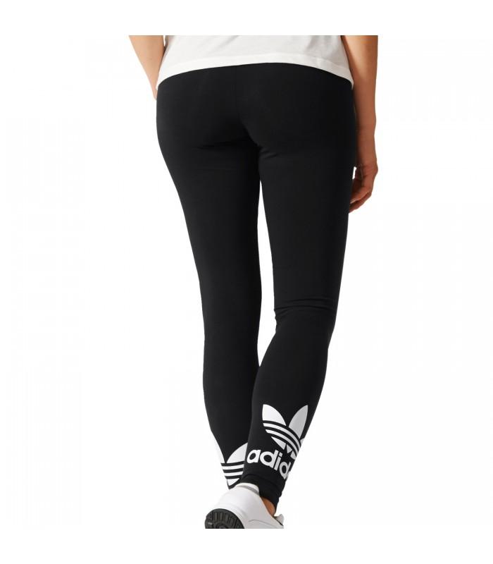 malla adidas trefoil leggings para mujer en color negro. Black Bedroom Furniture Sets. Home Design Ideas