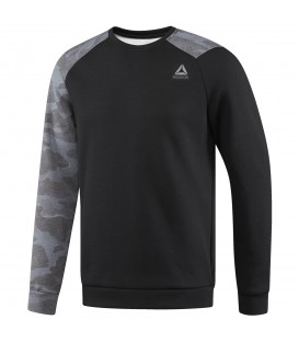 SUDADERA REEBOK QUICK COTTON CREW NECK