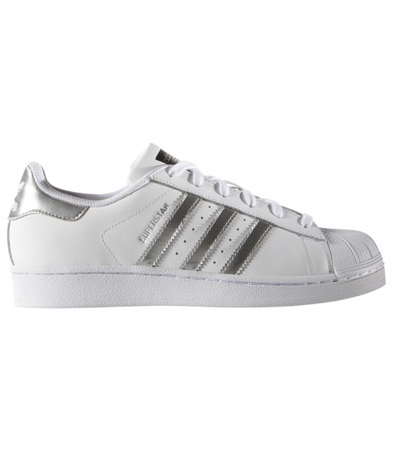 superstars adidas plata