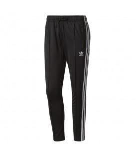 Pantalón para mujer Adidas Cigarrete BP9375 de color negro con las bandas blancas. Otros modelos de Adidas en chemasport.es