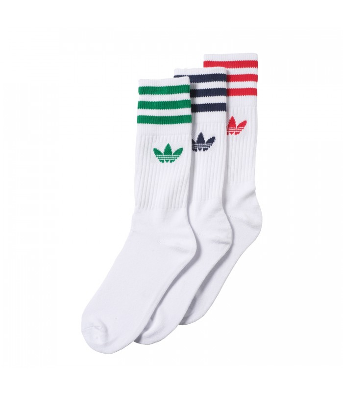 calcetines adidas originals blancos