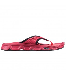 Comprar chanclas Salomon RX Break de descanso para mujer de color rosa. Otras chanclas de descanso en chemasport.es
